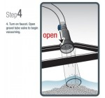 Aqueon 50-Foot Aquarium Water Changer and Gravel Vacuum