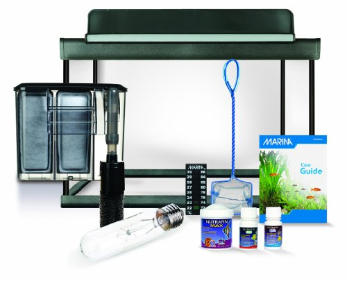 Marina 15250 Style 5 Glass Aquarium Kit, 19-Liter (5 US-Gallon)