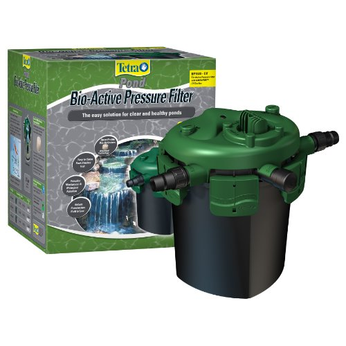 Tetra Pond Pressure Filter W/ 9 Watt Uv Sm