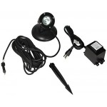 Alpine 50W Pond Light Clear Lense 33-Feet Cable with Transformer and Stake