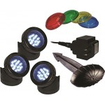 Alpine Led 3 Pack Light with Photocell and Transformer