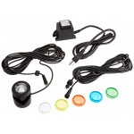 Alpine PLM110T 10-Watt Power Beam Light with Cord and Color Lenses