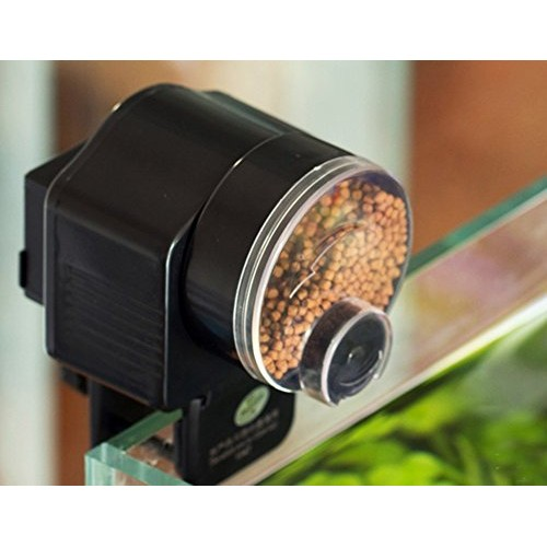 Automatic Fish Tank Pond Food Auto Feeder Feeding Timer Aquarium New