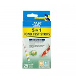 API POND 5 IN 1 POND TEST STRIPS Pond Water Test Strips 25-Count