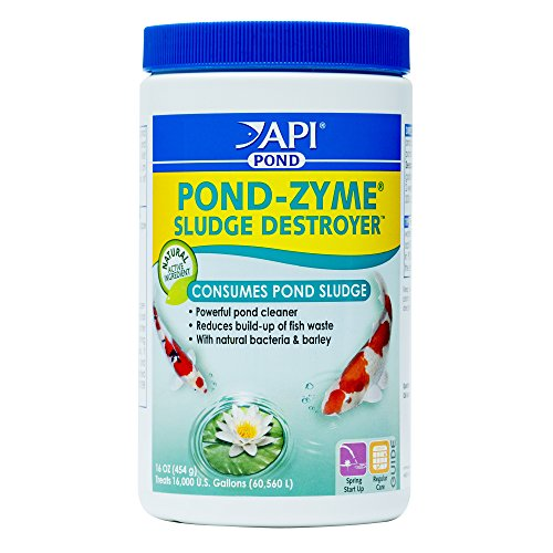 PondCare API Pond-Zyme Sludge Destroyer Pond Water Cleaner with Barley 1 lb Container