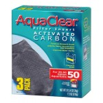 AquaClear A1384 Activated Carbon Insert, 50-Gallon Aquariums, 3-Pack