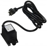 Aquascape 98375 Garden & Pond Manual Quick-Connect 12V Transformer, 6W