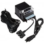 Aquascape Light Transformer 150W with Sensor, Black