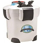 Aquatop CF400UV 4-Stage Canister Filter with UV 9W, 370 GPH