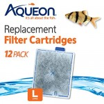 Aqueon QuietFlow Filter Cartridge, Large, 12 Pack