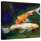 Art Wall Michael Creese 'Feng Shui Koi Fish' Gallery Wrapped Canvas, 14x18