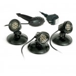 Atlantic Water Gardens LED Pond, Water Feature Lights, 3-pack
