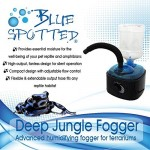 Deep Jungle Fogger, Advanced Humidifying Fogger For Reptiles & Amphibians In Terrariums & Aquariums! Provides Essential Moisture & humidity For The...
