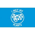 I Wet My Plants Decal Sticker