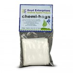 Boyd Enterprises CB ABE16720 2-Pack Chemi-Bags with Ties for Aquarium