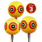 Bird Repellent Scary Eye Balloons: Stops Pest Bird Problems Fast. Reliable Visual Deterrent: Secure Your Property From Damage/Mess. Ward off Woodpe...