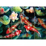 WATER FISH POND KOI CARP NEW GIANT ART PRINT POSTER G1530