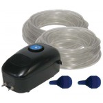 Easy Pro Pond Aeration Kit, Dual Diffuser, 1200-Gallons