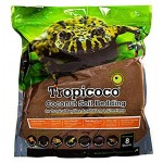 Galapagos 05004 Tropicoco Coconut Soil Bedding, 8-Quart, Natural
