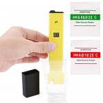 Digital pH Meter Pocket Size pH Test Pen 0 - 14 pH Measurement Range High Accuracy Water Quality Tester for Household Drinking Water Ponds Swimming...