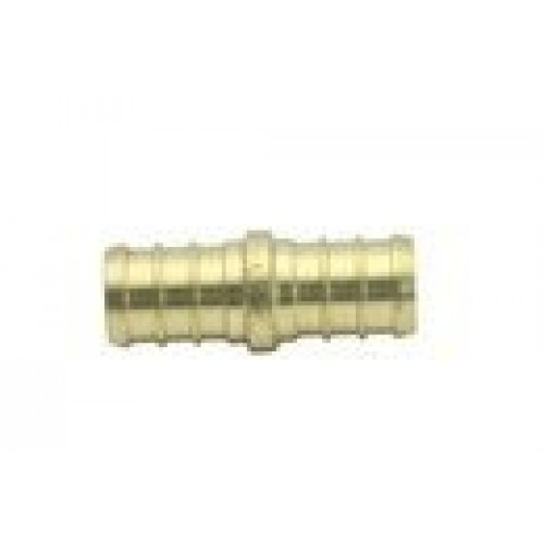 "Generic 1/2"" PEX Couplings, Brass Crimp PEX Fitting( Pack of 25 )"
