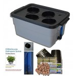 DWC Hydroponic Plant Growing System # 3 4-site H2OtoGro