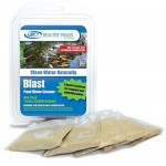Healthy Ponds 50010 Blast Pond Water Cleaner, 5 Water Soluble Packets; Each Packet Treats up to 25,000 Gallons