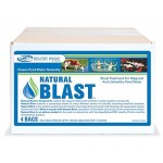 Healthy Ponds 51131 Natural Blast Pond Water Cleaner, 4 Water Soluble Packets; Each Packet Treats up to 125,000 Gallons for 7-10 Days