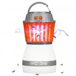 Bug Zapper Light Outdoor Camping Walking Garden Anti Bug Insect Repellent Portable Waterproof Lantern Mosquito Zapper USB Rechargeable Lamp Hook Re...