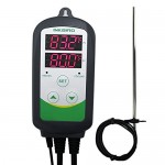 Inkbird Pre-Wired 308S + 12'' Replaceable NTC-30cm Probe Digital Dual Stage 110V 1000W Temperature Controller for Aquarium Heaters,Reptile,Hatching...