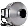 iPower 6 Inch 442 CFM Duct Inline Fan Vent Blower for Exhaust and Intake, Grounded Power Cord