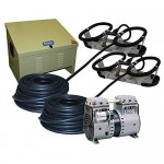 Kasco Marine Robust-Aire Aquatic Aeration System RA2 - For Ponds to 3.0 Surface Acres, 120 Volts, Includes Base Cabinet Mount by Kasco Marine Robus...