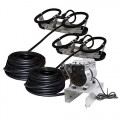 Kasco Marine Robust-Aire Aquatic Aeration System RAH2NC - For Ponds to 3.0 Surface Acres, 240 Volts, No Cabinet Included