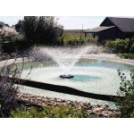 Kasco Marine 3400HVFX100 .75HP - 240V Aerating Fountain - 100Ft Power Cord
