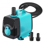 KEDSUM 55W 550GPH Submersible Water Pump Fish Tank Power-head Water Fountain Aquarium Hydroponic Pond Pump for Fish Pond Garden Rockery Waterfall