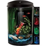 KollerCraft AQUARIUS AquaView 360 Aquarium Kit with LED Light - 3-Gallon by Koller Enterprises [Pet Supplies]
