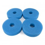 LTWHOME Compatible Foam Sponge Filter 25PPI Fits for Laguna Pressure-Flo 2100 UVC Filter(Pack of 4)