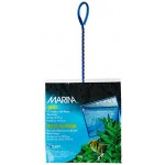 Marina 10-Inch Fine Nylon Net with 14-Inch Handle, Blue
