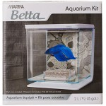 Marina Betta Aquarium Starter Kit, Skull