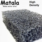 "1 Sheet Matala Pond Grey Filter Mat Koi Media Pad 19"" X 24"""