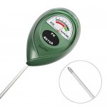 Mudder Soil pH Meter, Suitable for Testing pH Acidity & Alkalinity of Gardening, Farming, Batteries No Required