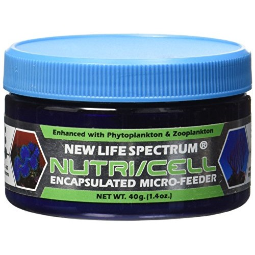 New Life Spectrum Nutri/Cell Coral Food Filter Feeder Microcapsules Pet Food, 40-Gram