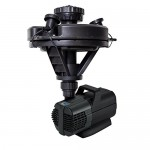 Oase 45383 1/4 hp Floating Fountain with Lights