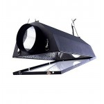 "New Air Cooled Hood Reflector Hydroponics Light 6"" Grow Hydroponic w/ Glass Cover by Omega Trading Group"