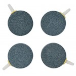 "Pawfly 1.6"" Air Stone Bubble for Aquarium Fish Tank Hydroponics Pump Ceramic Airstones Diffuser, Pack of 4"