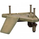 Penn-Plax Reptology Turtle Pier with Floating Platforms and Ramp with Turtle Basking Platform Float