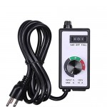 PrimeGarden Variable Fan/Router Speed Controller Hydroponics Inline Fan Exhaust Air Variable Fan Blower Speed Controller Hydroponics Inline Duct Vo...