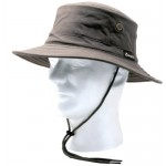 Principle Plastics Sloggers 4471DB Classic Cotton Hat with Wind Lanyard Rated UPF 50 Plus Maximum Sun Protection-Dark Brown-Adjustable Medium to Large