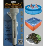 Premium Floating POOL THERMOMETER perfect for All Pools, Hot Tubs, Ponds & More by River Country