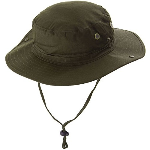 Simplicity Safari Explorer Bucket Boonie Hat Outdoor Hunting Cap, 1364_Olive